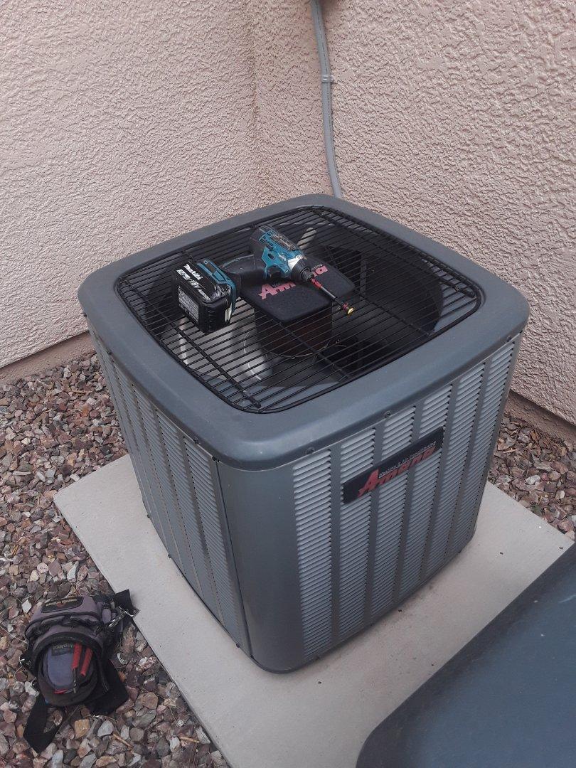 Las Vegas, NV - Amana ac tune up maintenance service in Las Vegas