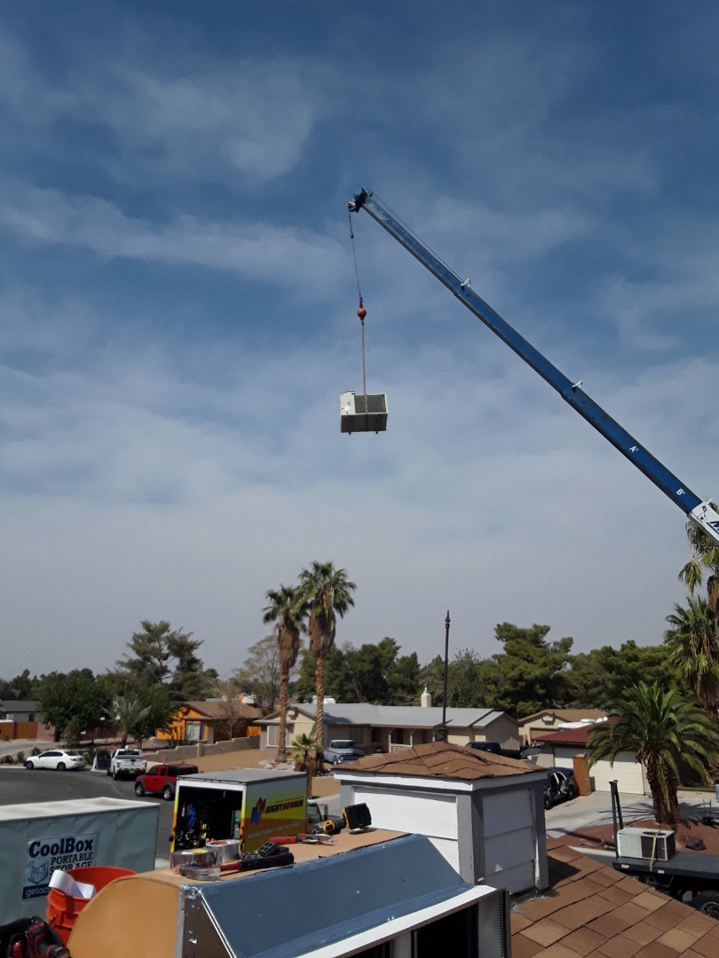 North Las Vegas, NV - AC and furnace replacement York unit