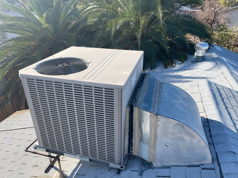 Las Vegas, NV - Performed a heating tune up on a York gas package roof system