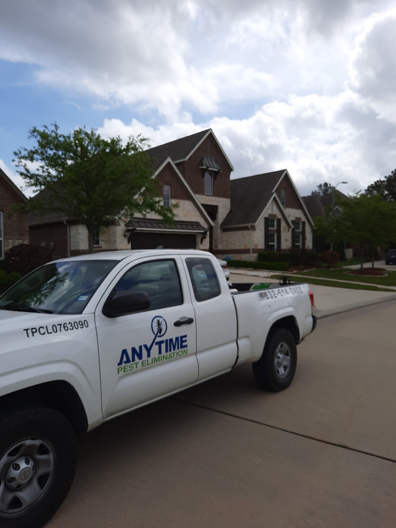 Ssorayed exterior of home in Tomball TX for ants spiders and cockroaches.  Baited master bathroom for ants. Thank you so much for your business and have a great day.