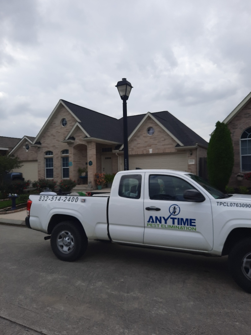 Treated exterior of home in Tomball TX for general pests. Treated interior for German cockroaches.  Thank you for your business and have a wonderful day.