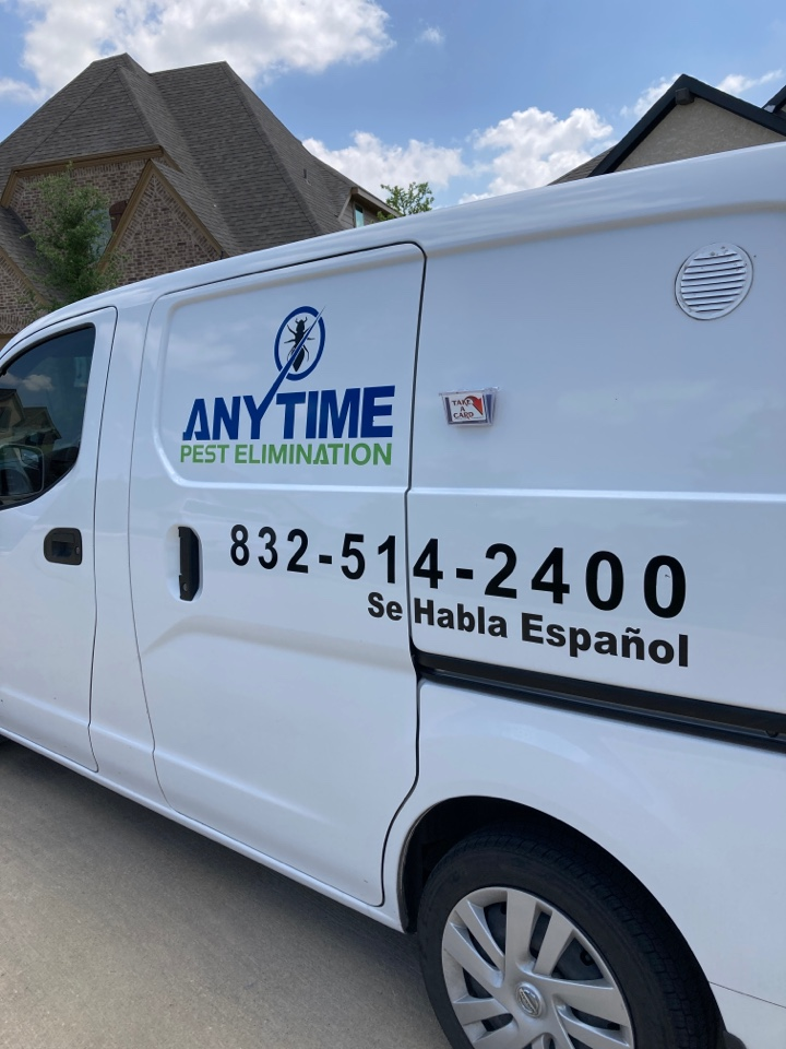 We'll be treating exterior of home for general pests.