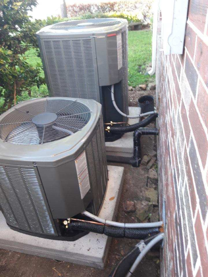 Baytown, TX - Two completes hvac systems installed