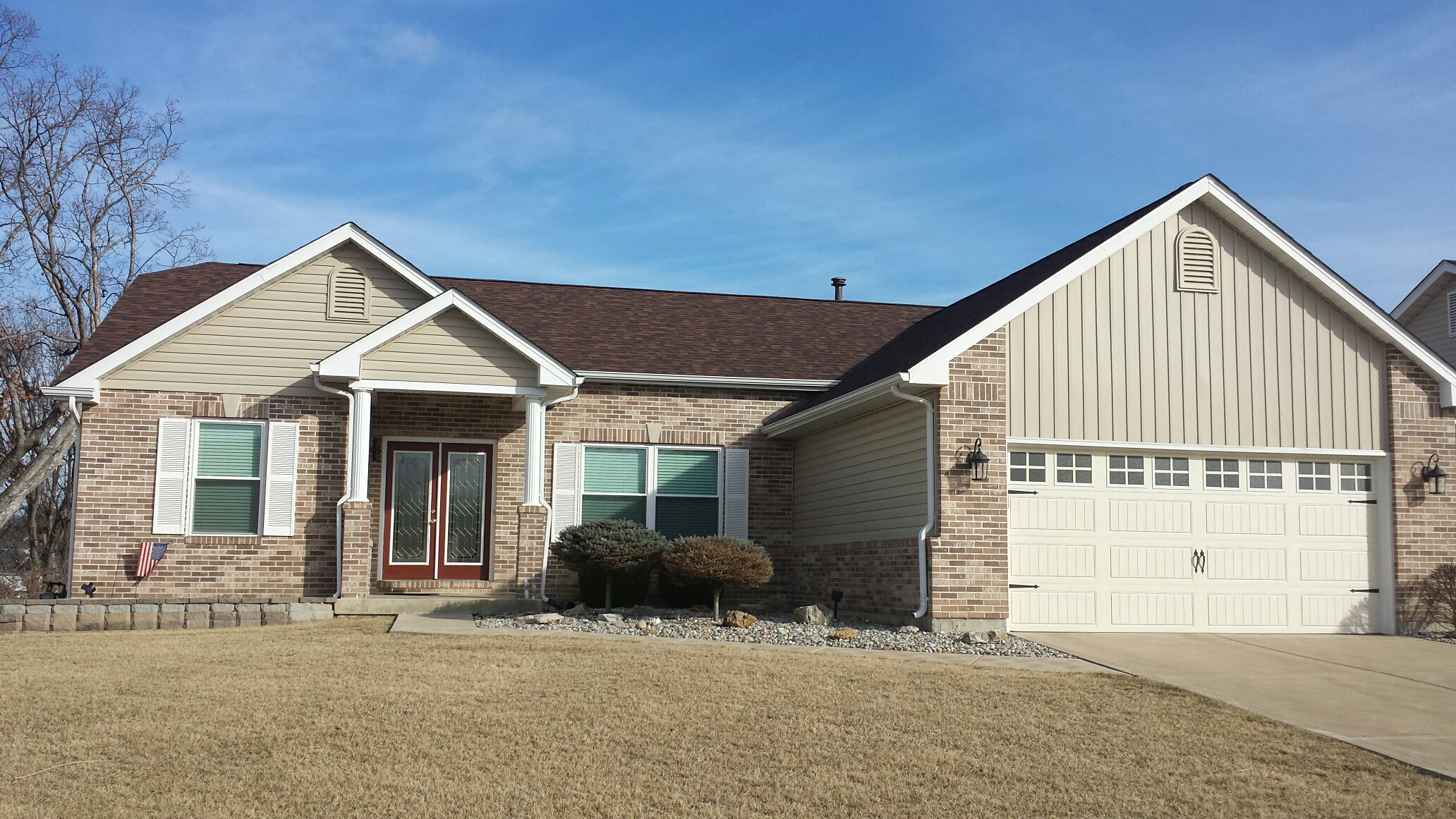 Saint Charles, MO - Great vinyl siding job in St. Charles, Mo
