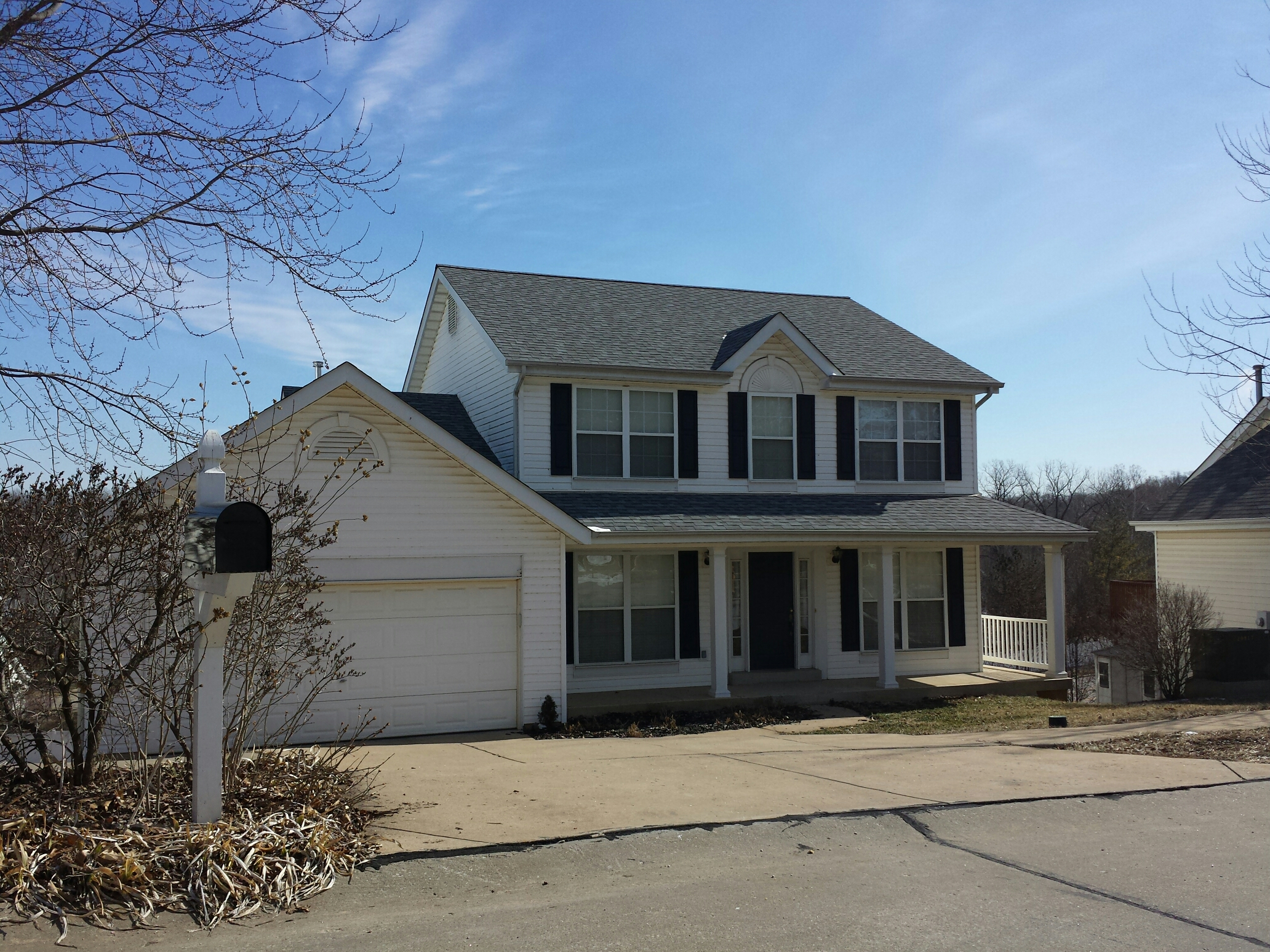 Valley Park, MO - New roof from insurance claim. Ballwin. Call Joe 314-550-7369