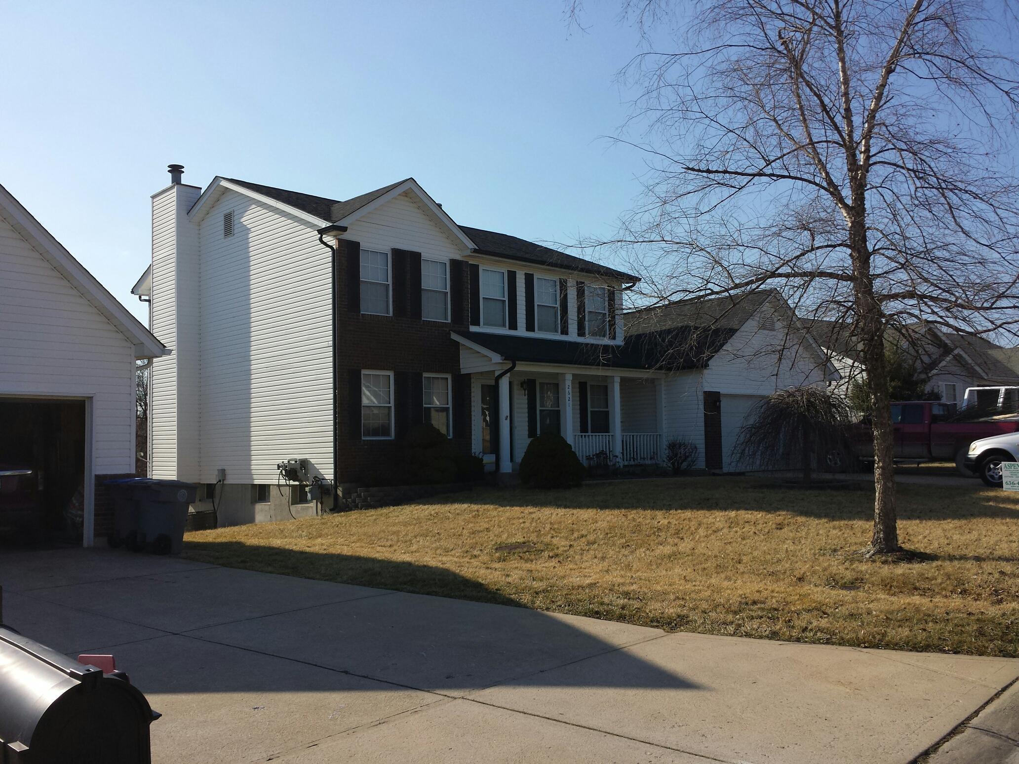 O'Fallon, MO - New roof from insurance claim. Call Joe 314-5507369