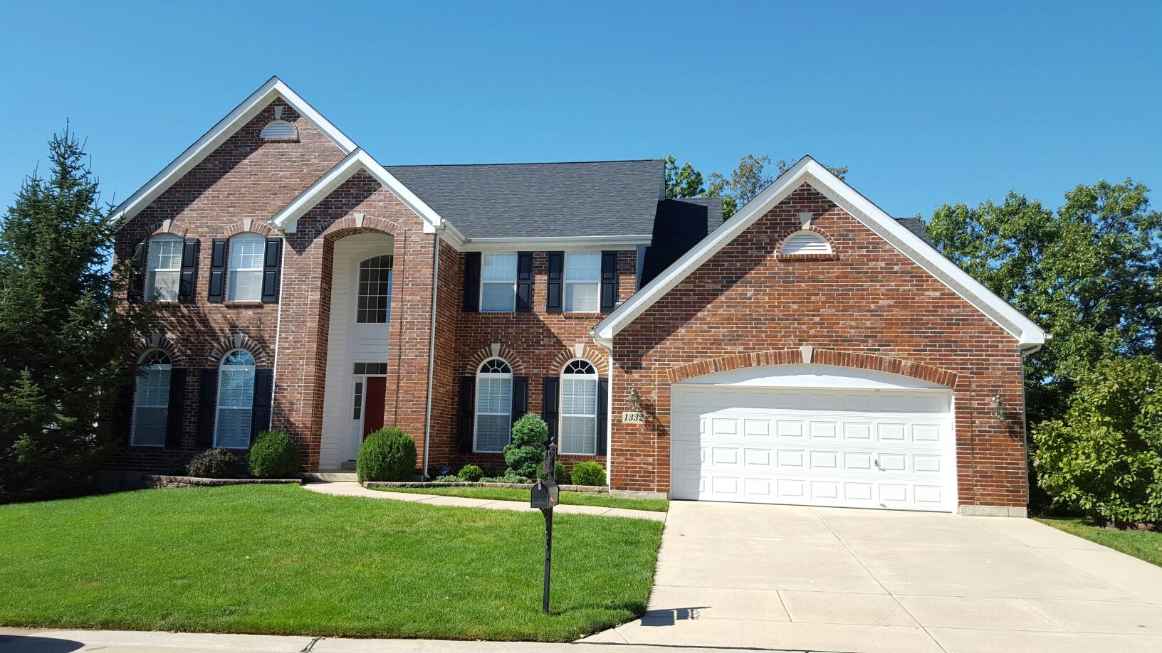 Ballwin, MO - New roof in Ellisville. Call Joe 314-550-7369
