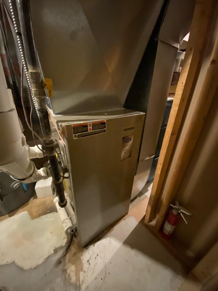 North York, ON - Install new secondary heat exchanger under warranty in Toronto.