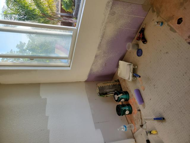 Brentwood, CA - We just finished the wet while yesterday it's ready for tile in today were starting the painting process looks like tile will start on Monday