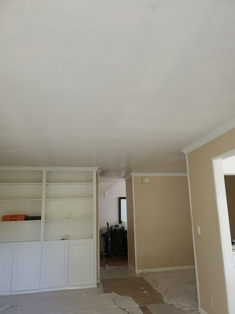 Martinez, CA - Just finishing up the drywall  Repair
