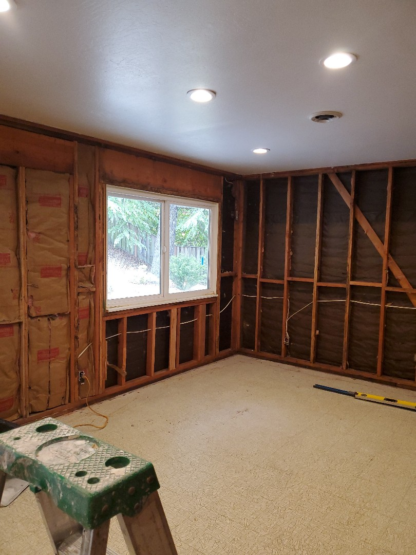 Moraga, CA - Is the start of a residential office remodel  In Moraga For a past client