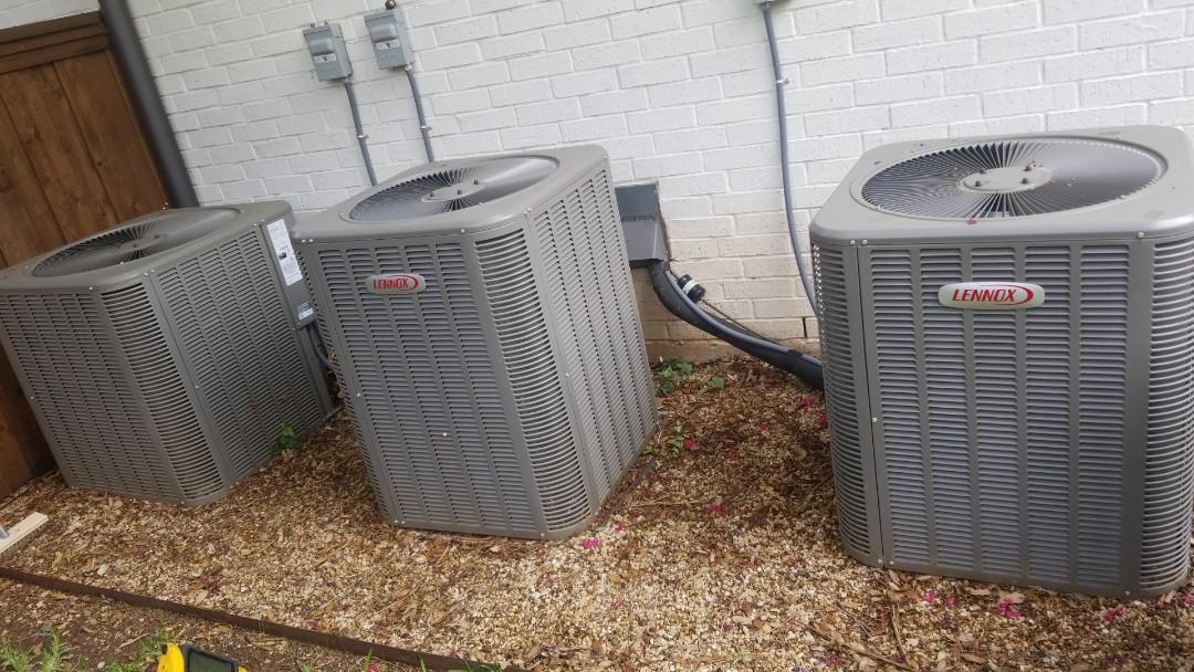 Dallas, TX - AC tuneup in Dallas Tx on 3 Lennox systems