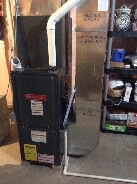 Bristol, IN - FURNACE IS OLD AND NEEDS LOTS OF REPAIRS, SO THEY WILL BE GETTING NEW INSTALL