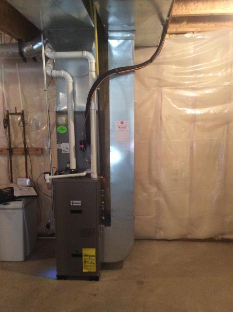 Bristol, IN - install new furnace