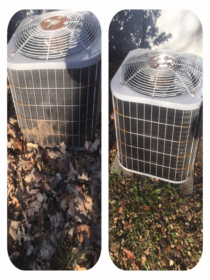 Lakeville, IN - Ac clean maintenance.