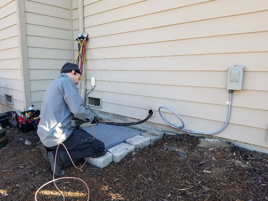 Mill Creek, WA - Electrical install new heat pump system and furnace upgrade