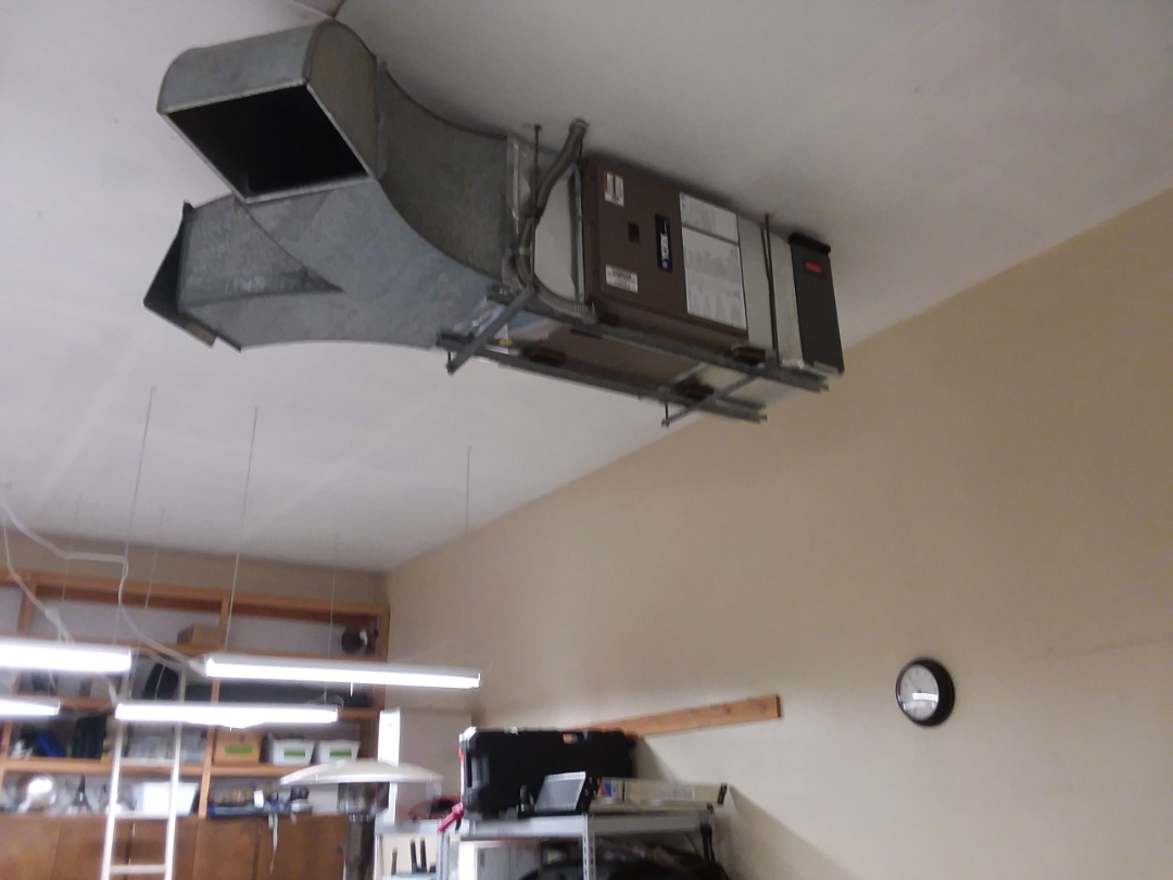 Lynnwood, WA - Just finished installing a York electric furnace in Lynnwood customer happy they have heat again