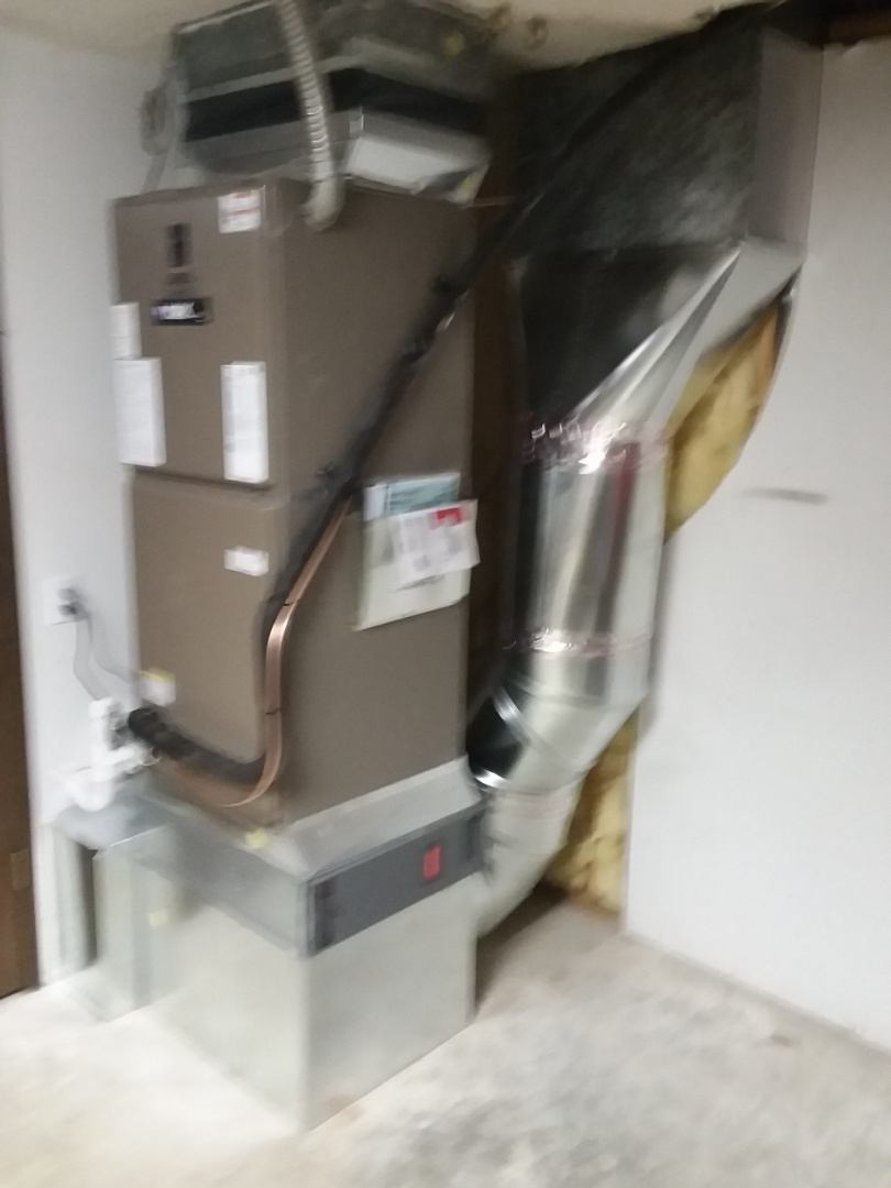 Snohomish, WA - Just finished second day on Tuesday job installing four ton  York heat pump system in Monroe