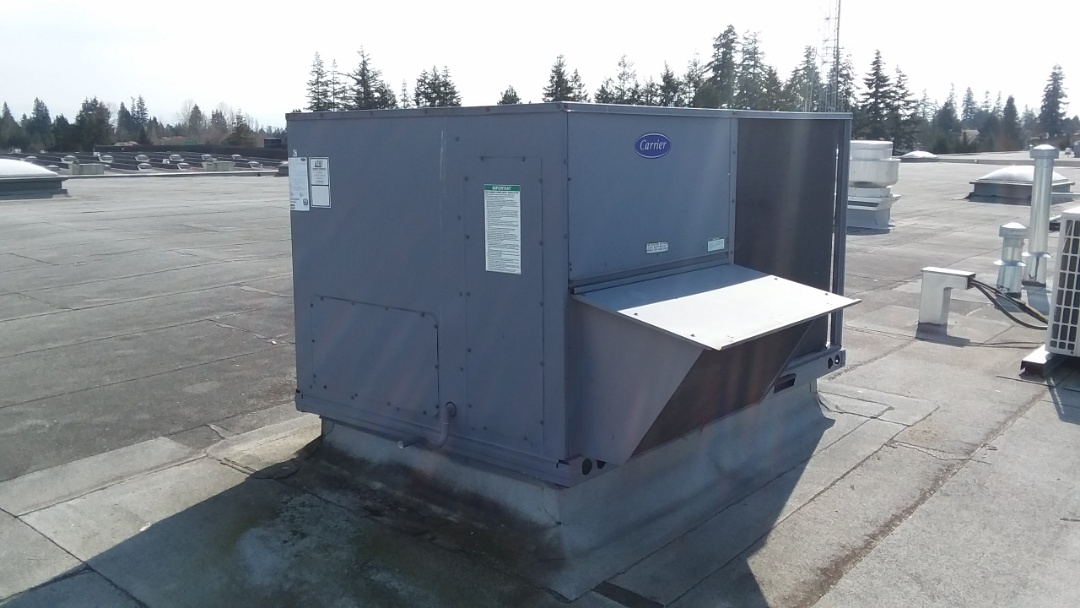 Everett, WA - Quoting the replacement of a carrier package unit