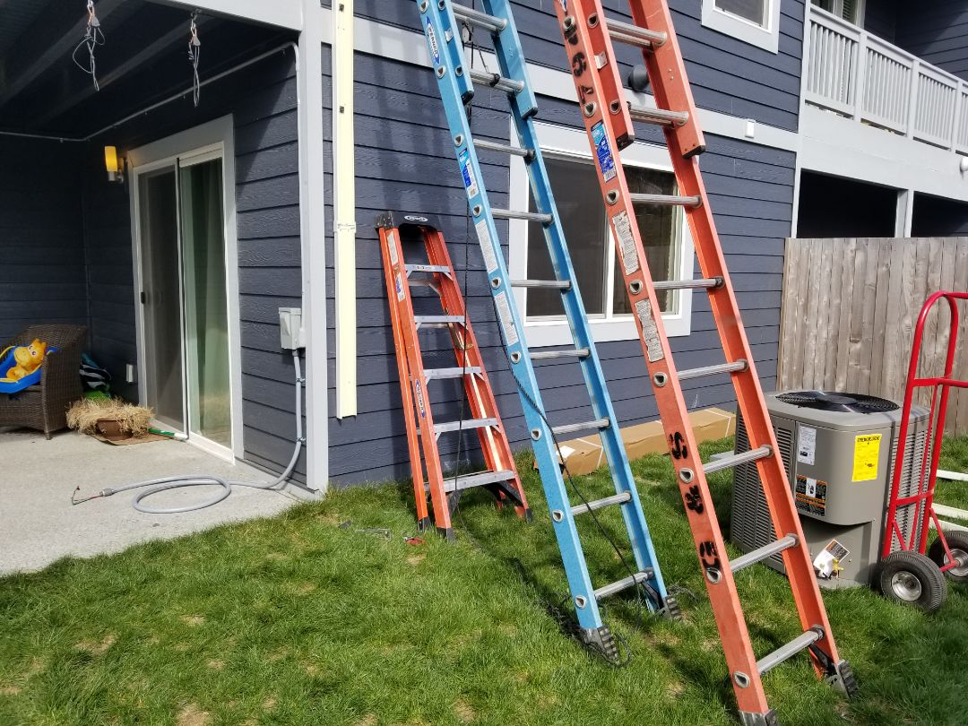 Edmonds, WA - Electrical install new AC system