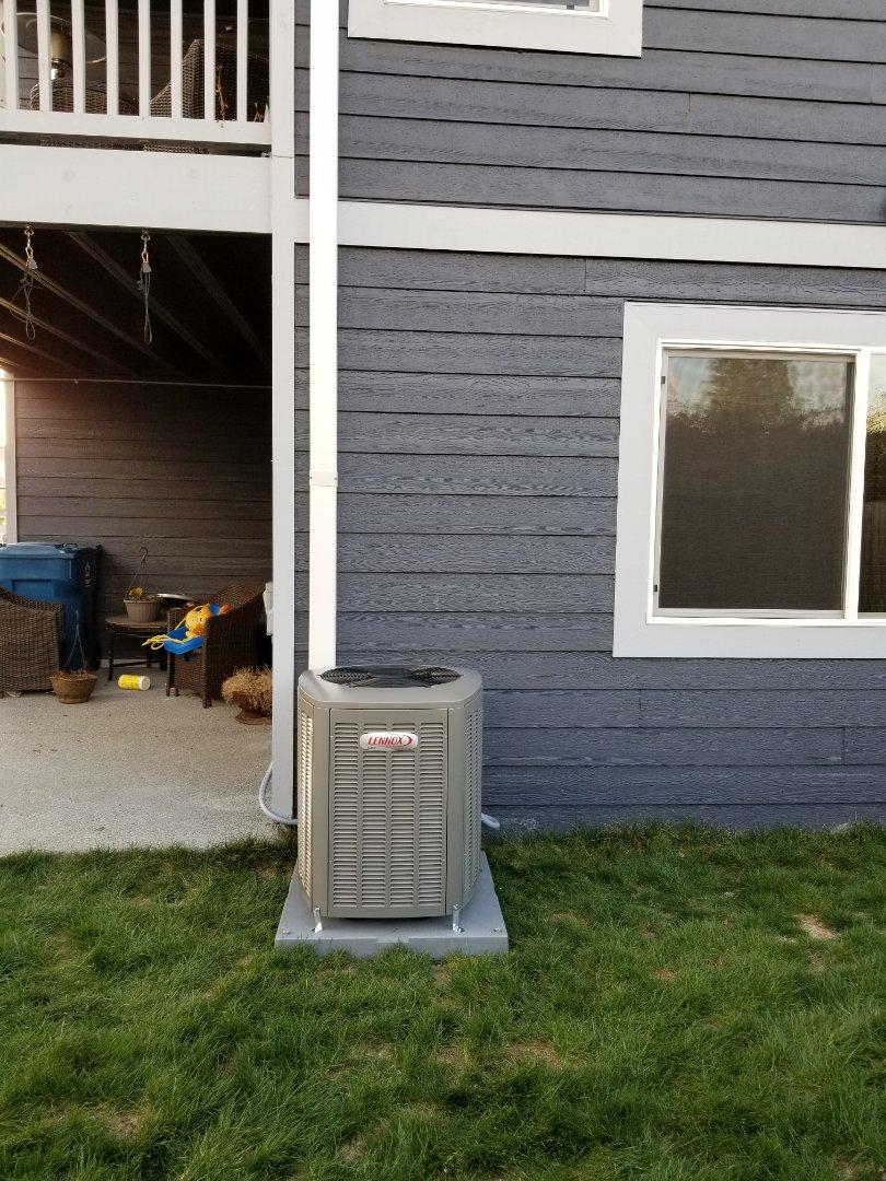 Mount Vernon, WA - Heat pump installation