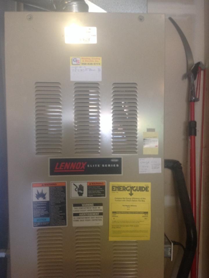 Monroe, WA - No heat on a Lennox gas furnace in Monroe .