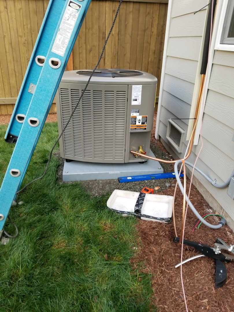 Bothell, WA - Electrical install AC unit and surge protection