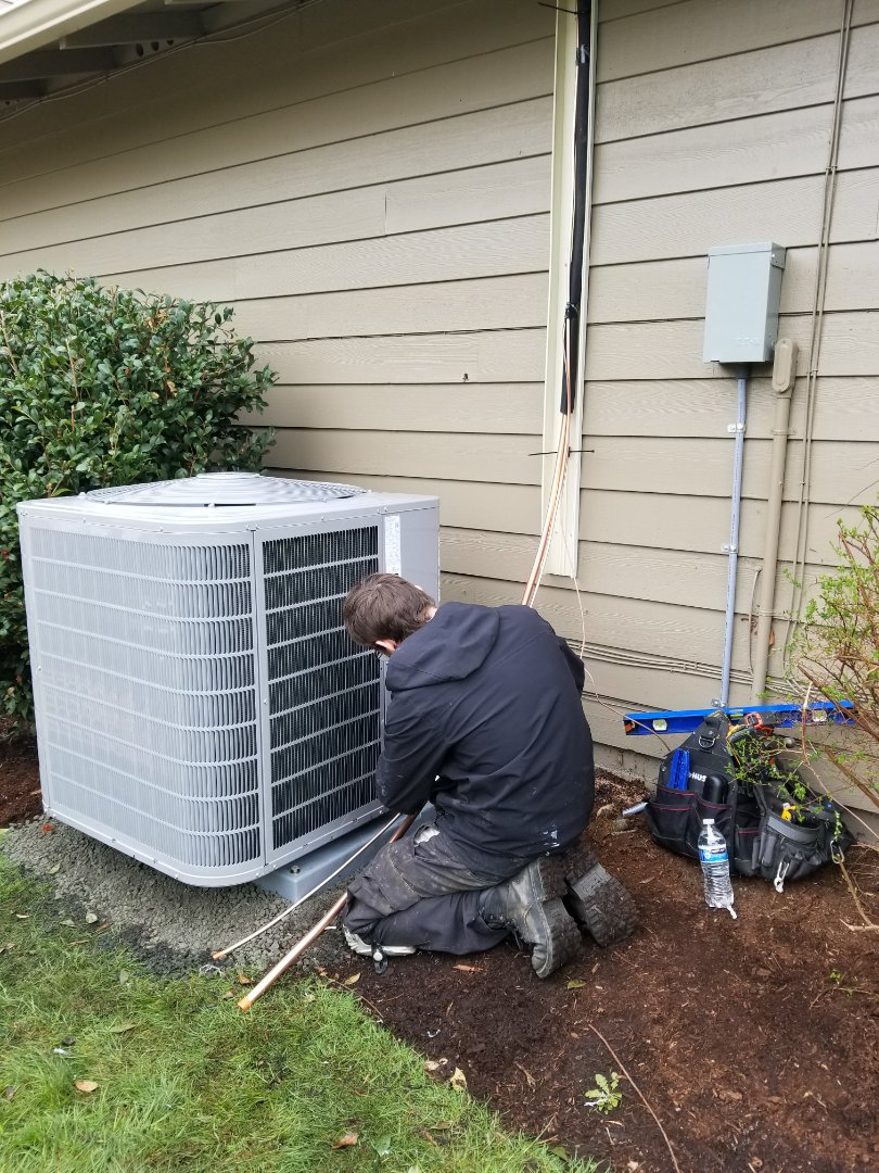 Kenmore, WA - Electrical install new AC system and furnace upgrade