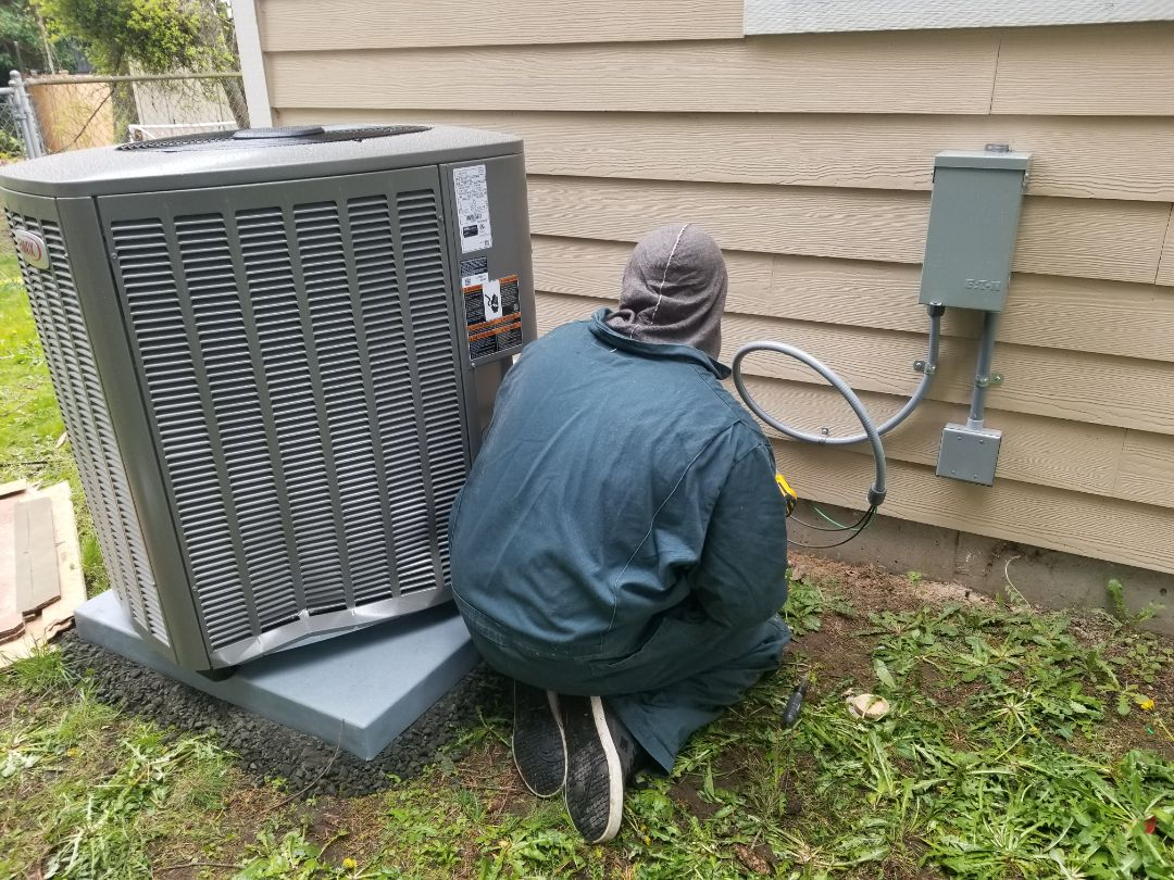 Seattle, WA - Electrical install new AC system and furnace upgrade