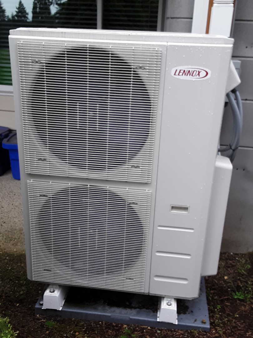 Woodinville, WA - Planned maintenance on a Lennox ductless heat pump in Woodinville