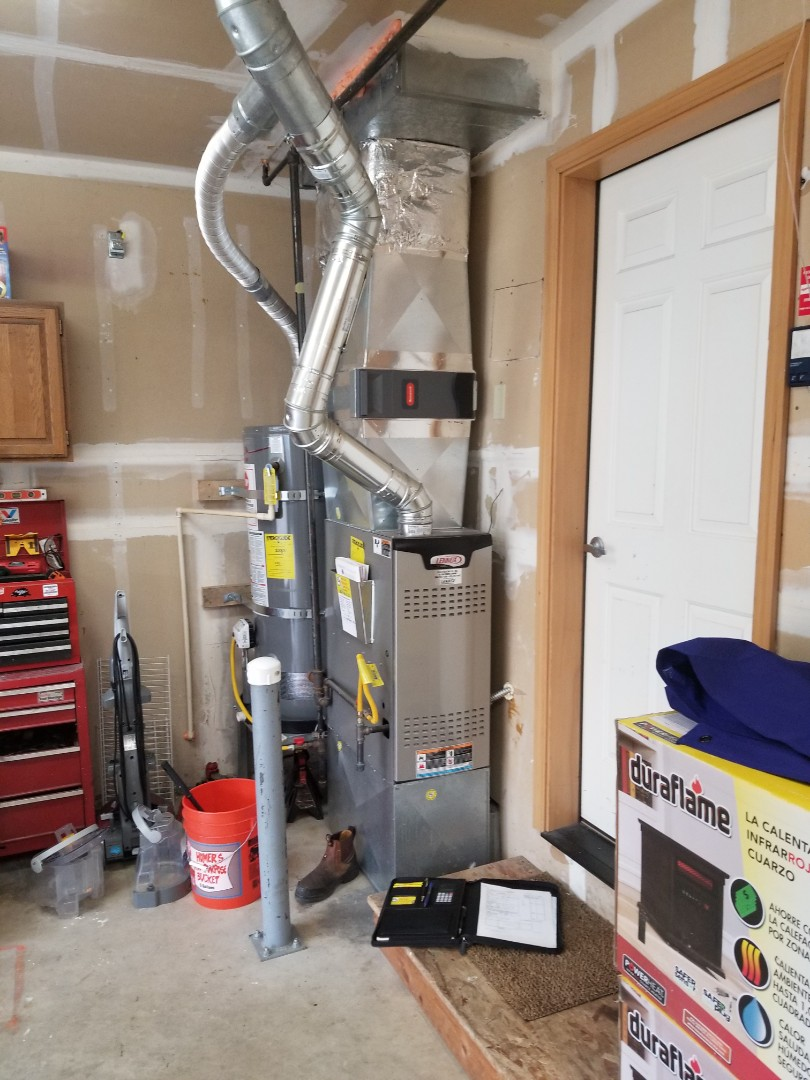 Marysville, WA - Providing an estimate to install a York air conditioner in Lake Stevens.