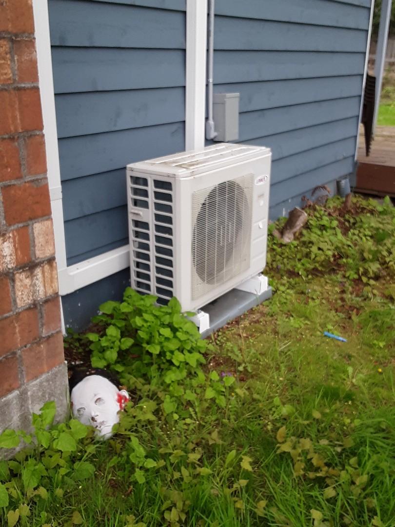 Lynnwood, WA - Planned maintenance on a Lennox ductless heat pump in Lynnwood