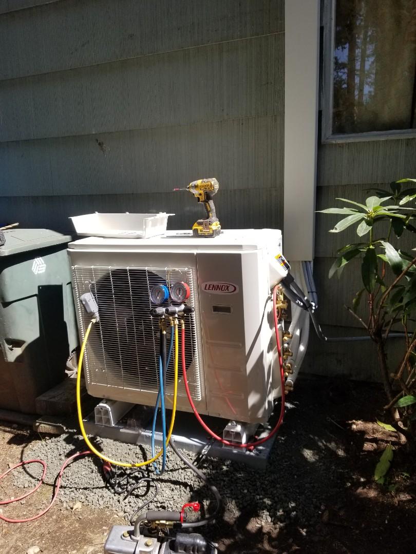 Lynnwood, WA - Electrical install new heat pump system