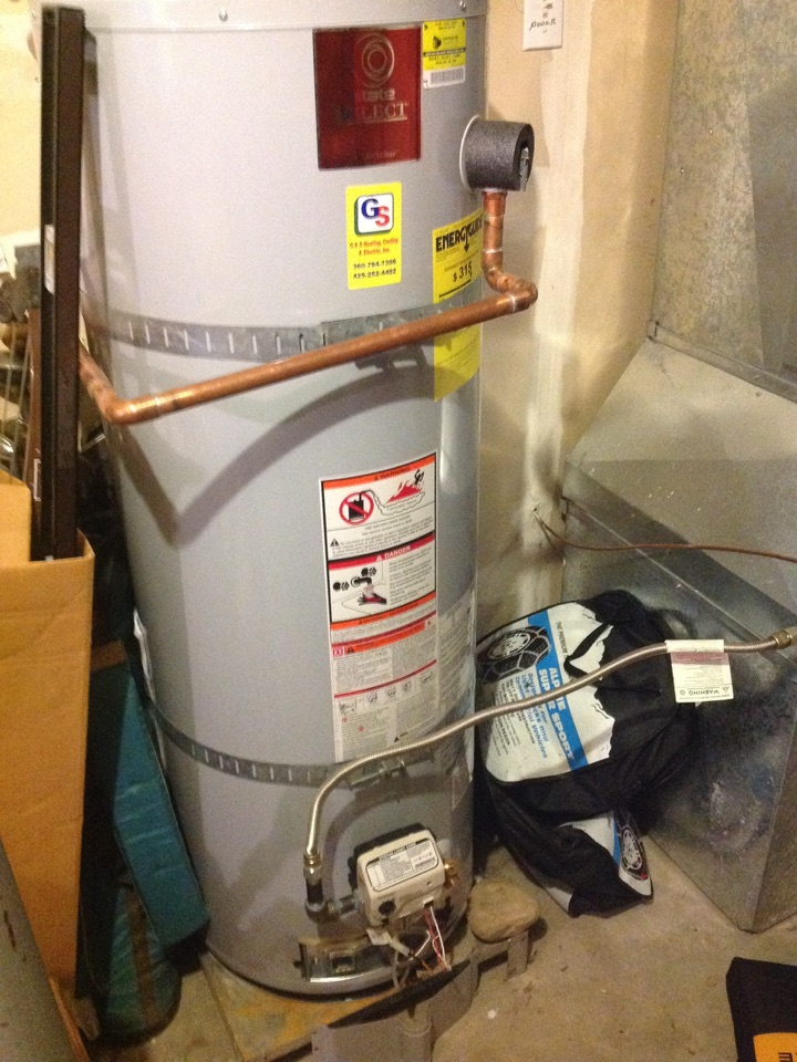 Monroe, WA - Repair on State gas water heater in Monroe.