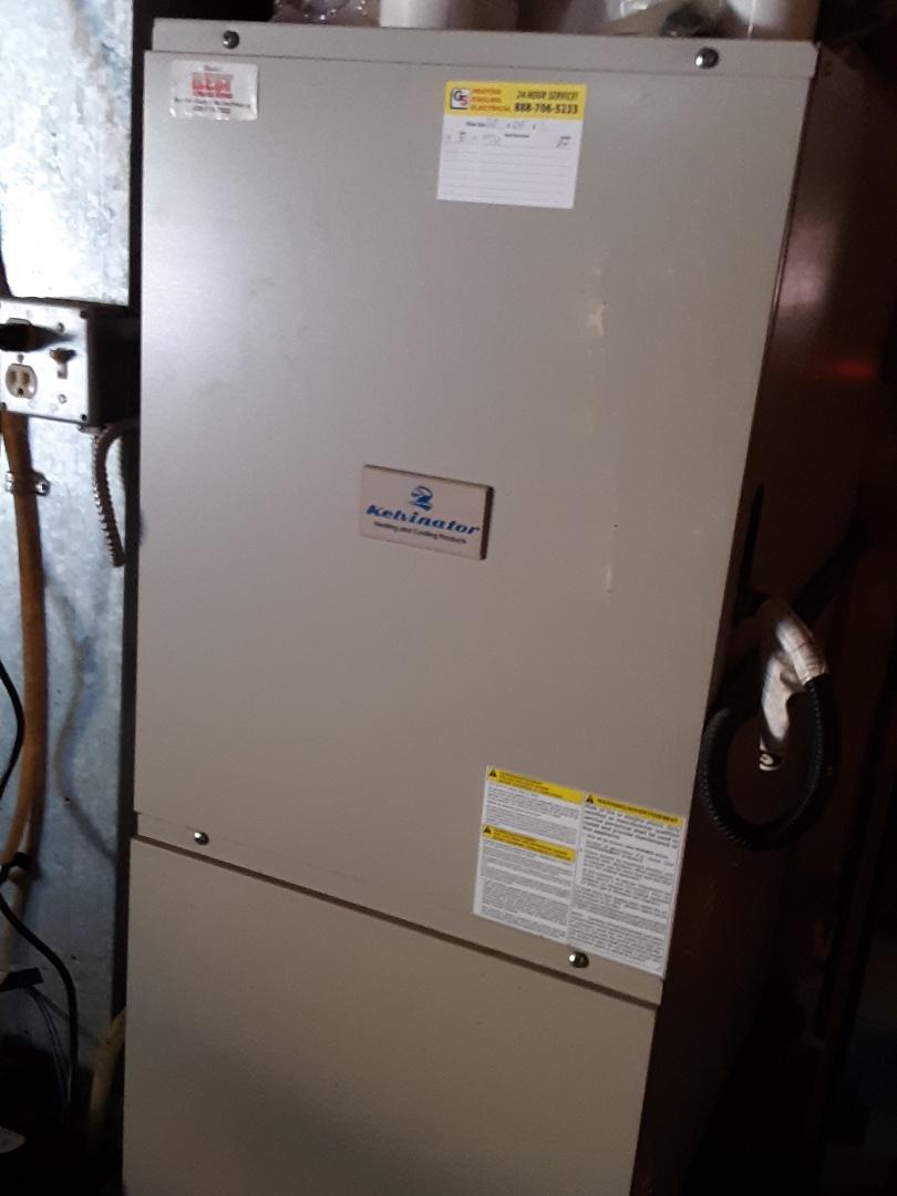 Edmonds, WA - Precision tune up on a kelvinator 90% efficiency gas furnace in Edmonds