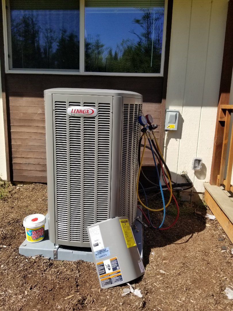 Sultan, WA - Electrical install new AC system and  service outlet