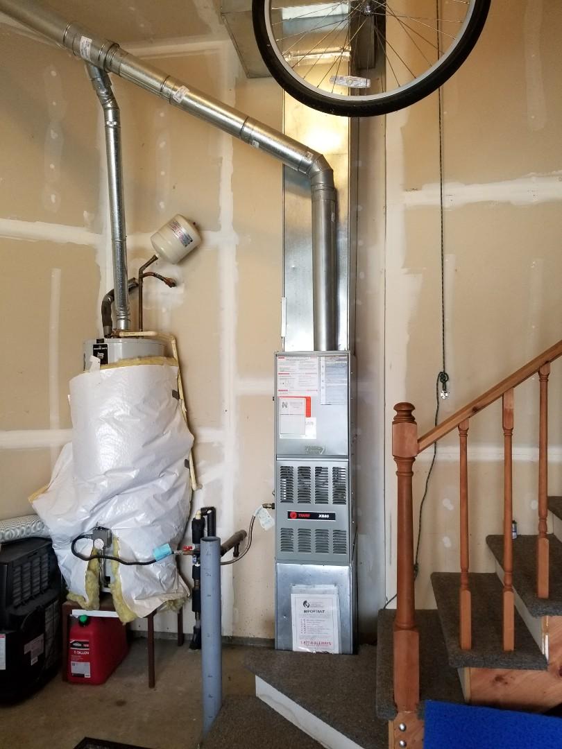 Arlington, WA - Providing an estimate to install a Lennox Elite Series furnace in Arlington.
