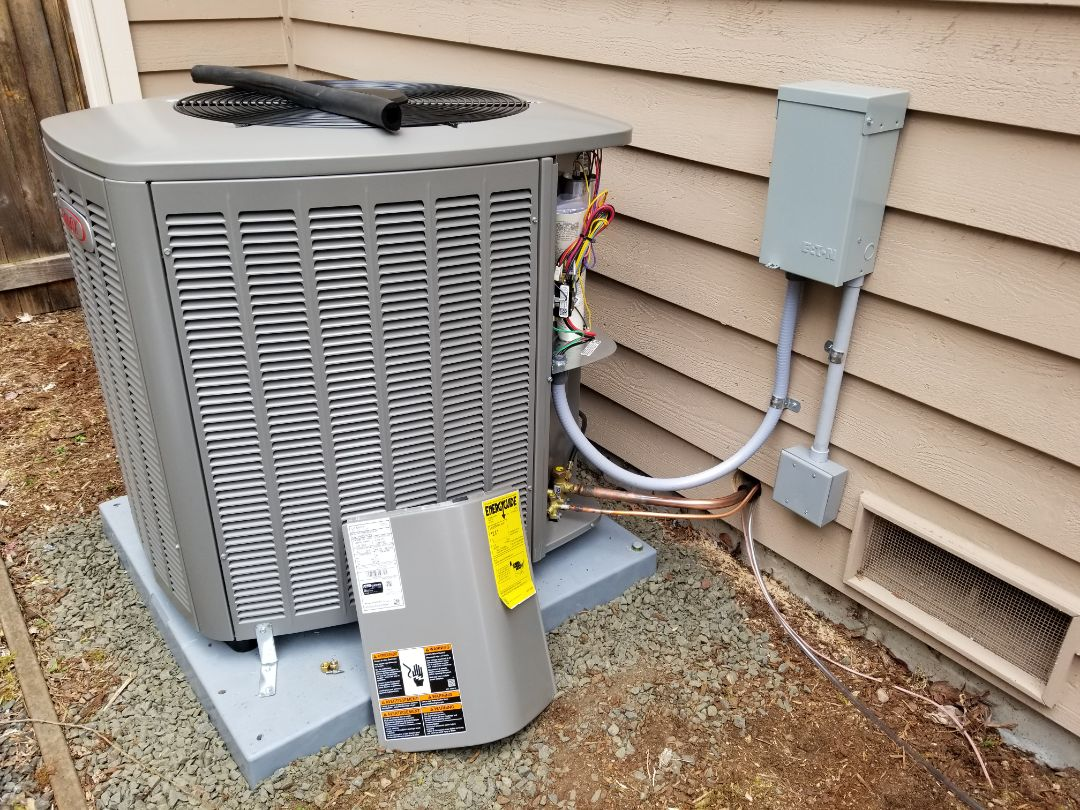 Mill Creek, WA - Electrical install new AC system and furnace upgrade