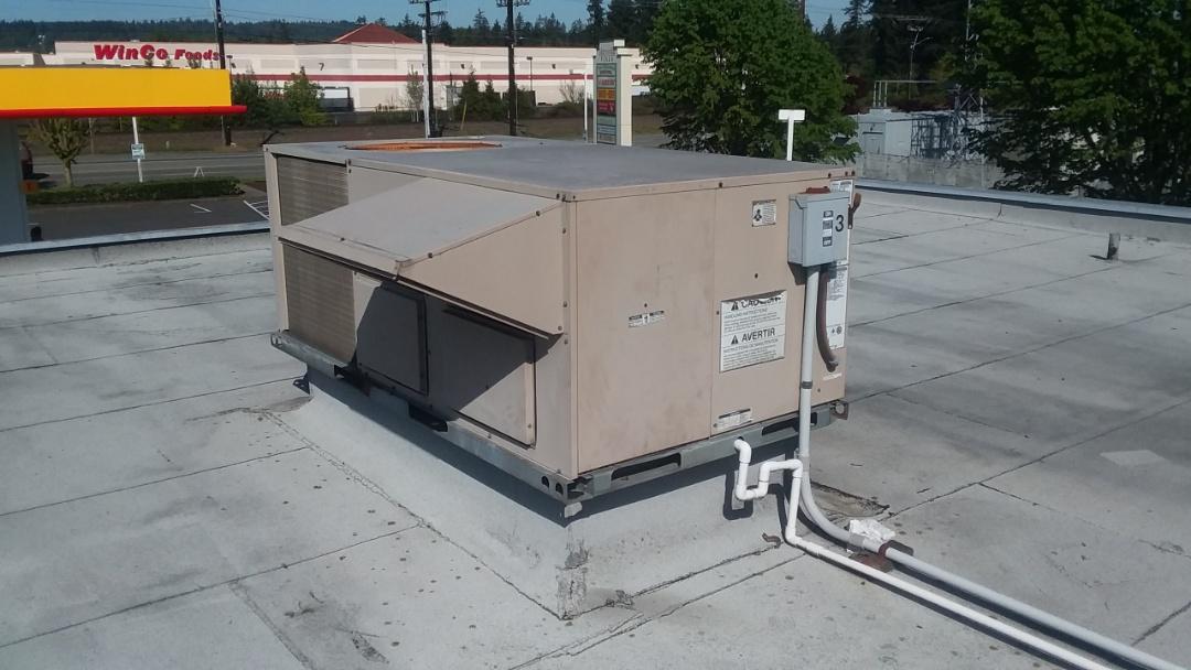 Marysville, WA - York rooftop unit replacement