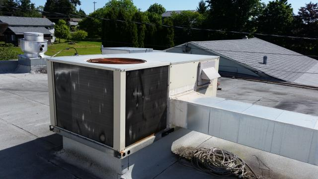 Brier, WA - looking at a York roof top unit in Brier Wa
