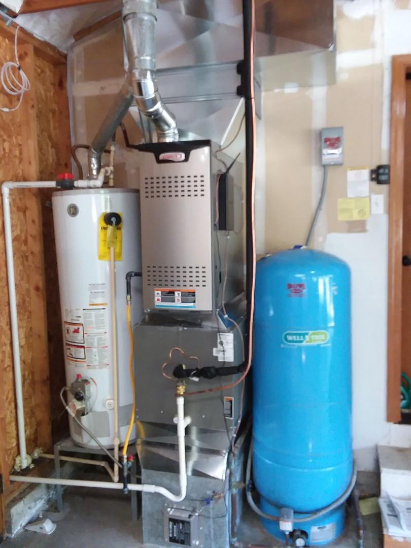 Monroe, WA - Heat pump and new gas furnace