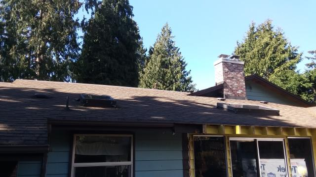Edmonds, WA - Installing a Mitsubishi duct less heat pump system for a remodel in Edmonds Washington