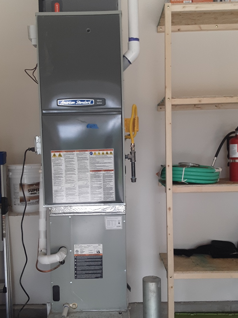 Snohomish, WA - Diagnostics on an American standard gas furnace AC in Snohomish