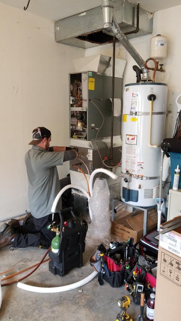 Lynnwood, WA - Ac installation