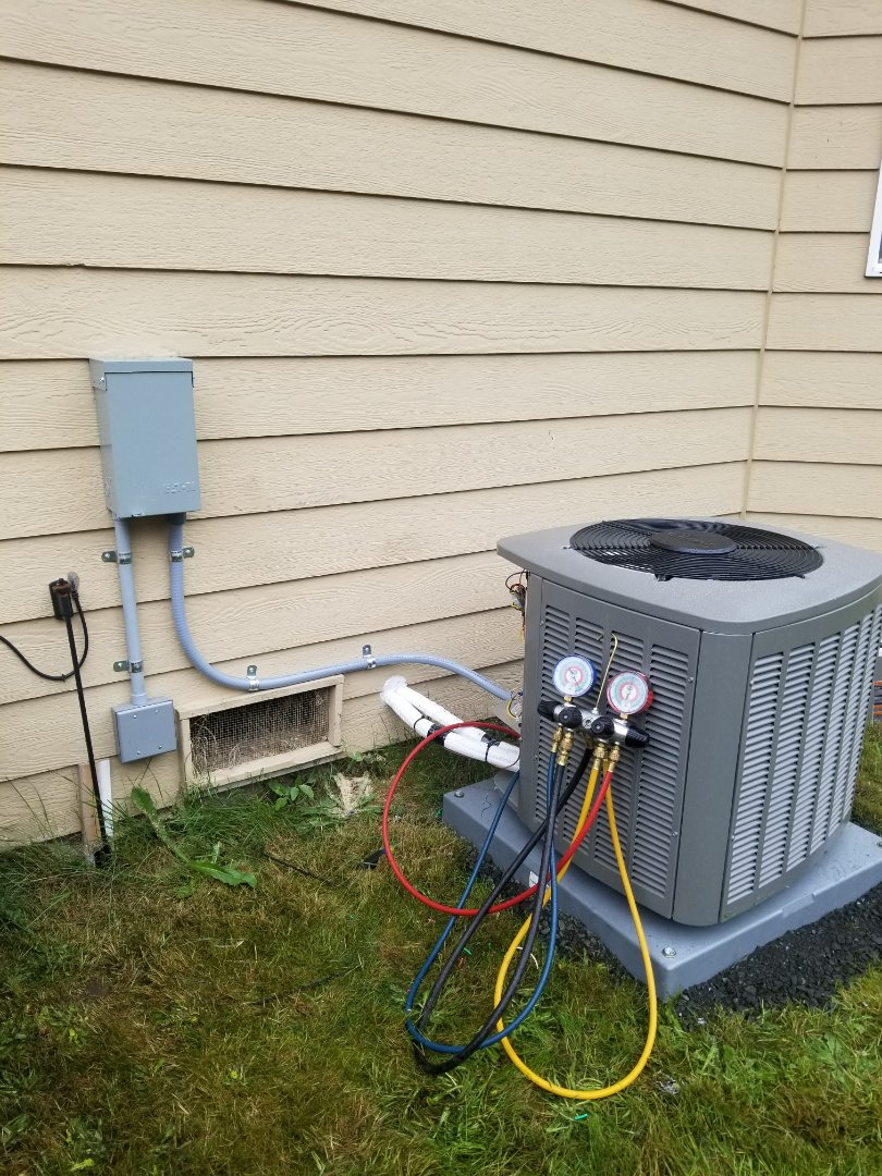 Lynnwood, WA - Electrical install new AC system and furnace upgrade