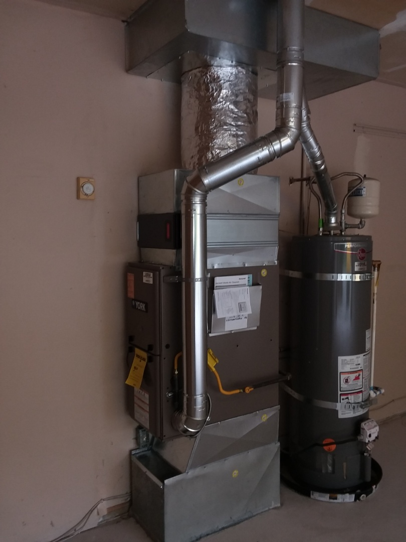 Sultan, WA - Just finished installing a new 80% single stage gas furnace in Sultan using York heating products