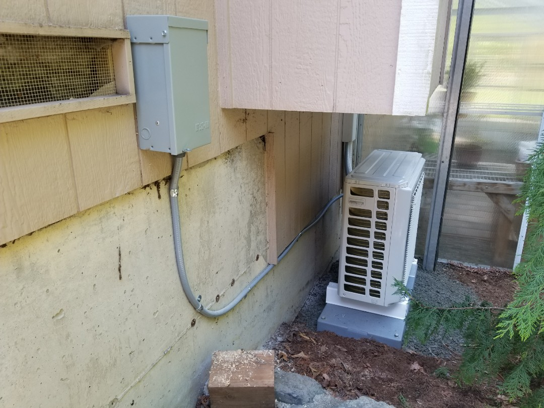Lake Stevens, WA - Electrical install new AC system