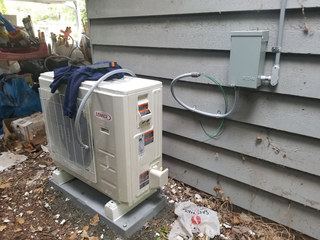 Shoreline, WA - Electrical install new heat pump system