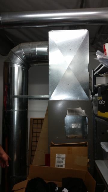 Monroe, WA - Gas furnace replacement in Monroe Washington with new Lennox unit