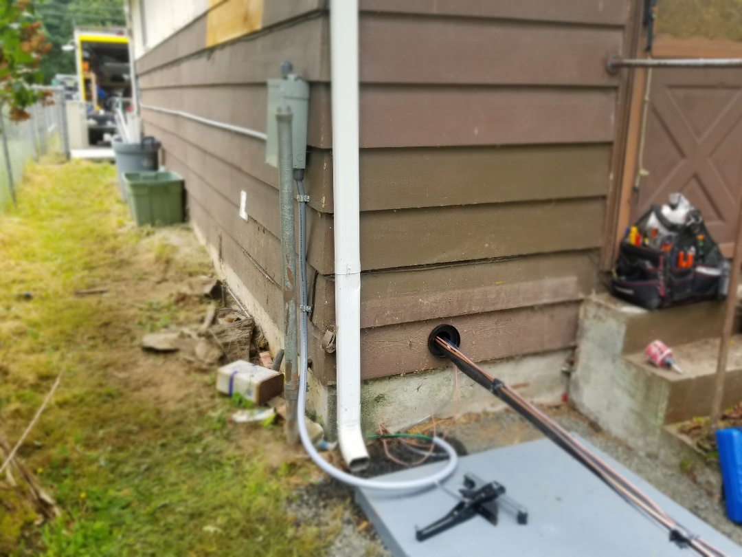 Lynnwood, WA - Electrical install new heat pump system and furnace upgrade